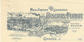 Genève. Châtelaine. Usine Biscuits Pernot